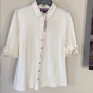 *NWT 3/4 sleeve polo